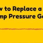 Well Pump Pressure Gauge replacement