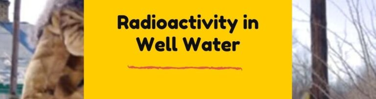 how to remove radioactive elements from water